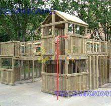 四川高端防腐木制玩具哪里卖※ 重庆双桥爬网系列玩具※买滑梯找美奇图片