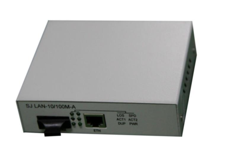 百兆光纤收发器/网络摄像机专用光纤收发器