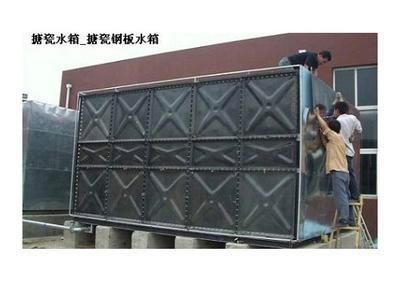 德州钢板搪瓷水箱销售价格_搪瓷钢板水箱 丨厂家_德州搪瓷水箱