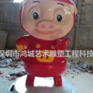 玻璃钢猪猪侠批发供应图片