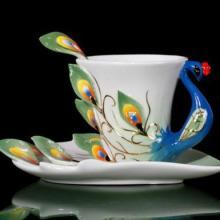 供应珐琅彩咖啡专用杯 可当礼品图片
