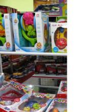 供应澄海A类库存摇铃玩具称斤批发 澄海最大按吨批发玩具供货商