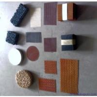 供应银川泡沫陶瓷过滤网片,氧化铝蜂窝陶瓷过滤网,碳化硅泡沫陶瓷过滤图片