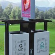 户外广告式垃圾箱广告牌环卫垃圾箱图片