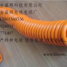 供应珠海PVC弹簧线/TPU卷线/螺旋电缆/TPU防水弹弓线价格实惠批发