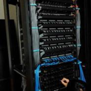南京上门安装网络机柜打配线架模块图片