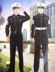 上海物业保安制服订做图片