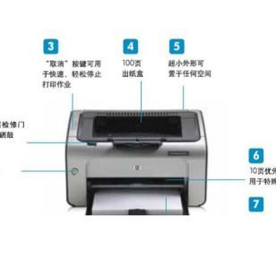 萍乡惠普1008打印机图片
