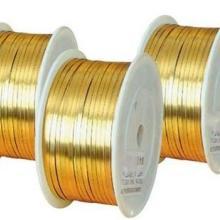 供应黄铜半圆扁线-首饰、饰品黄铜半圆线厂家-河北H62黄铜半圆扁线