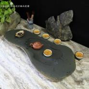 天然砚石茶盘高端大气石材端砚茶盘图片