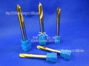经销90度镀钛含钴定点钻直柄定心钻3 4