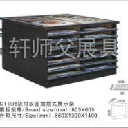 供应抽屉式陶瓷展示柜石材地砖展架瓷砖样品陈列架木地板摆放架