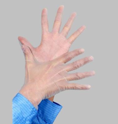 无粉PVC手套图片/无粉PVC手套样板图 (1)