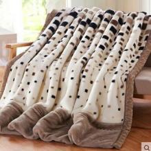 供应夜夜香超柔印花拉舍尔毛毯毛毯子定做毛毯绒毯加厚批发