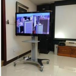 供應視頻會議移動推車液晶顯示挂架