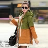 杂款秋冬装精品加厚加绒女式棉衣图片