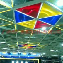 供应六角形格栅-组合式铝格栅天花-木纹六角形格栅天花板采购价格、批发