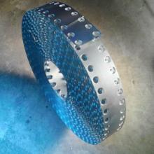 供应双排扣 双排圆孔镀锌钢带
