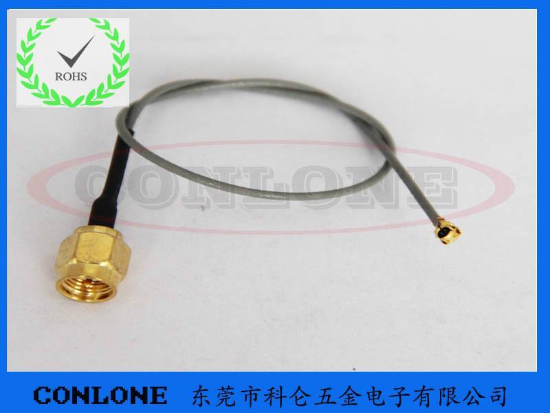 供应SMA公头焊线式射频连接器,SMA公头,SMA公头焊线式插座