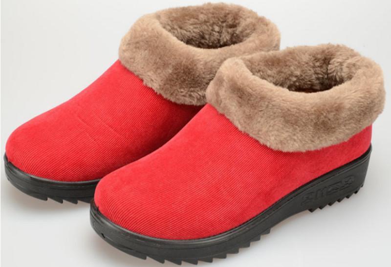 供应聚氨酯底保暖棉鞋中老年棉鞋批发