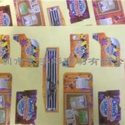深圳爱联卡通贴纸小玩具标签定制图片