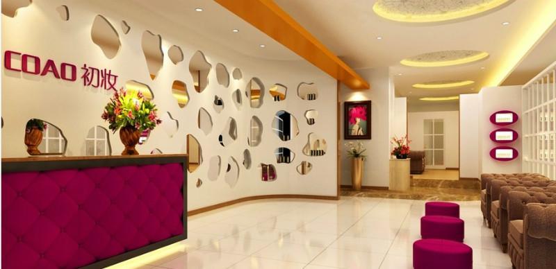 成都精雕国际能够提供美容院品牌策划,店面设计,店铺图片