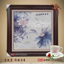 供应陶瓷瓷板画定制