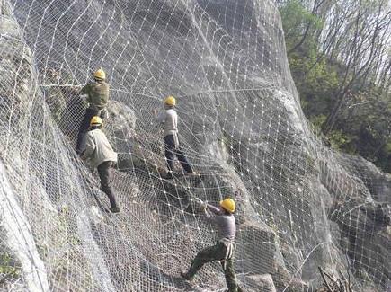 供应山体护坡网山体防护网价格厂家选《蜀安围栏》山体护坡防护网专家!