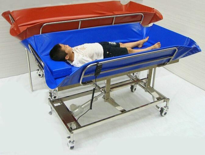供应儿童电动沐浴床儿童医用沐浴床