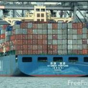 布匹出口海运专线图片