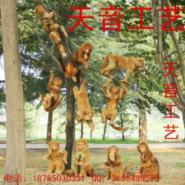 仿真猴子等动物模型皮毛玩具标本图片