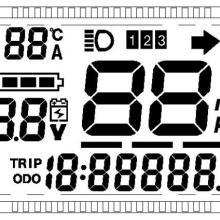 供应电动车仪表液晶显示屏现货供应