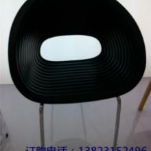 供应ABS塑料椅五星脚餐椅贝壳椅子