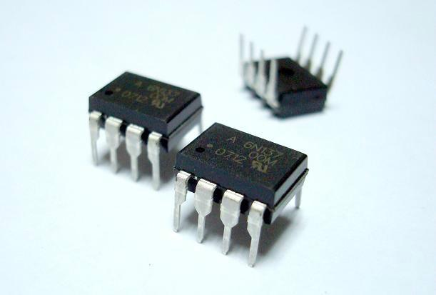 供应6N137安捷伦光耦光电耦合器