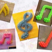 音乐符号/气球音符/魔术气球编织图片