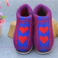 供应2014最新流行棉鞋男女棉鞋毛线鞋图片