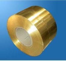 供应用于五金,机械的深圳镜面H68黄铜带图片