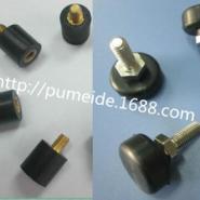 包铜橡胶减震器橡胶避震器包胶铁件图片