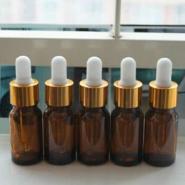30ml茶色玻璃精油瓶带滴管精华液瓶图片