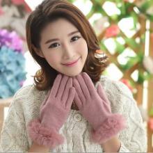 供应旺角16号女款冬加厚时尚羊毛手套