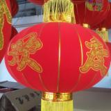 供应植绒中国结图案