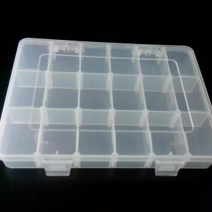 18格可拆式PP塑料盒/五金工具包装图片