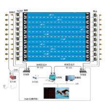 供应浙江宁波游泳比赛专用评估测试系统哪里有,供应游泳比赛控制系统价格,游泳比赛电子计时记分系统方案与介绍图片