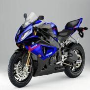 2010宝马S1000RR超级摩托车图片