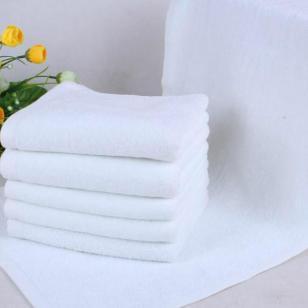 纯棉白毛巾图片
