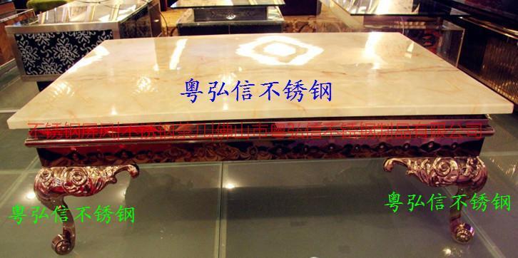 供应不锈钢酒吧凳 不锈钢欧式茶几脚  蛇形茶几脚