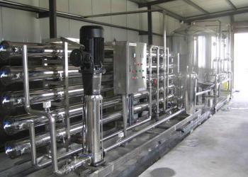食品饮料乳品行业纯水设备图片