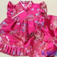 儿童唐装套装批发改良宝宝童礼服