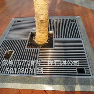 不锈钢树篦子/仿铜树篦子图片