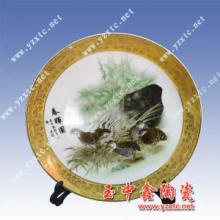 供应陶瓷纪念盘,人工彩绘,各类陶瓷定制